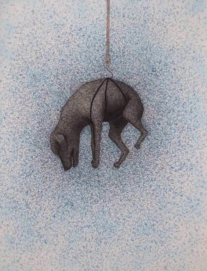 portfolio item Wilma Stegeman met de titel: Suicide dog